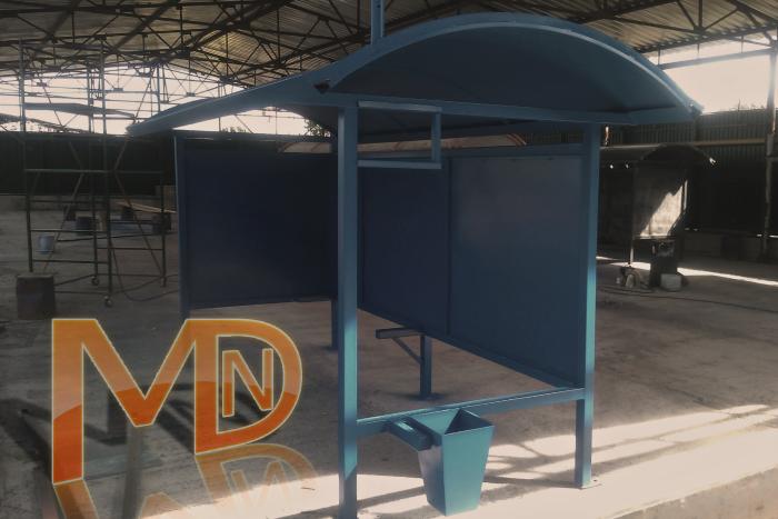 Изготовление антивандальных автобусных павильонов