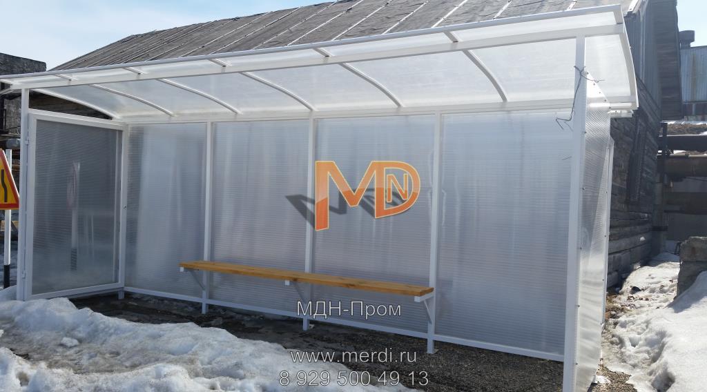 Павильон-остановка для города Магадана