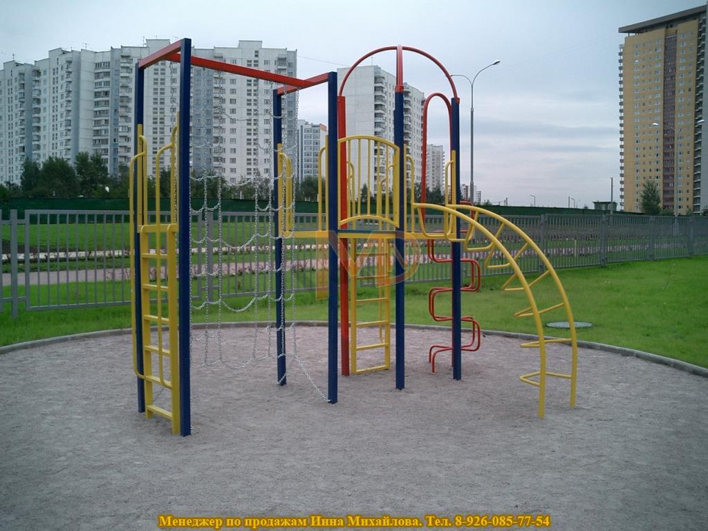 Спортивно-игровой комплекс для двора многоквартирного дома
