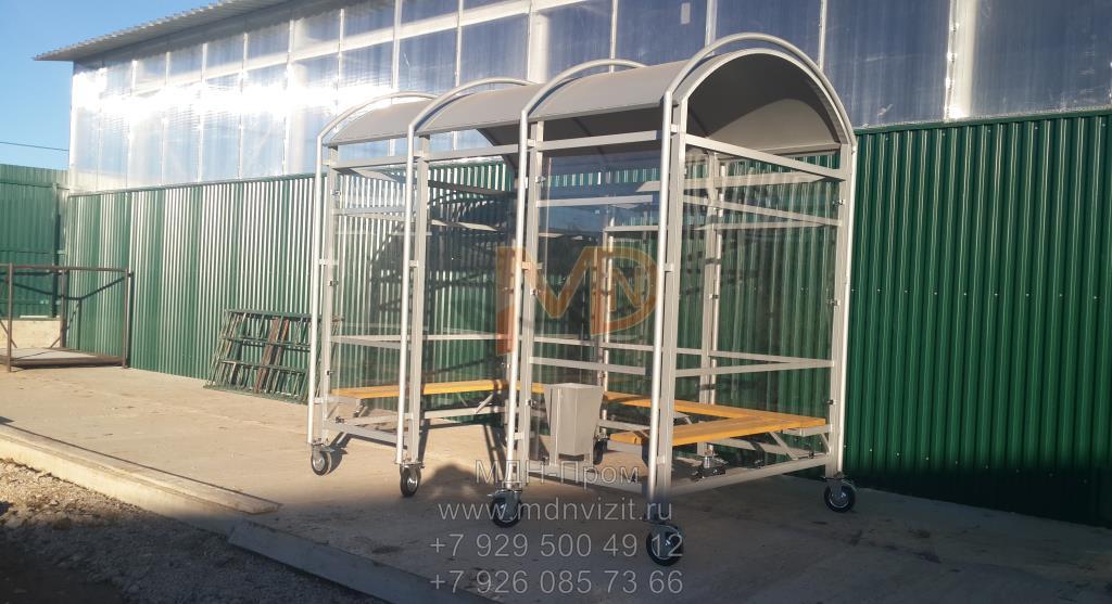 Павильон для курения на колёсах в Тюмени
