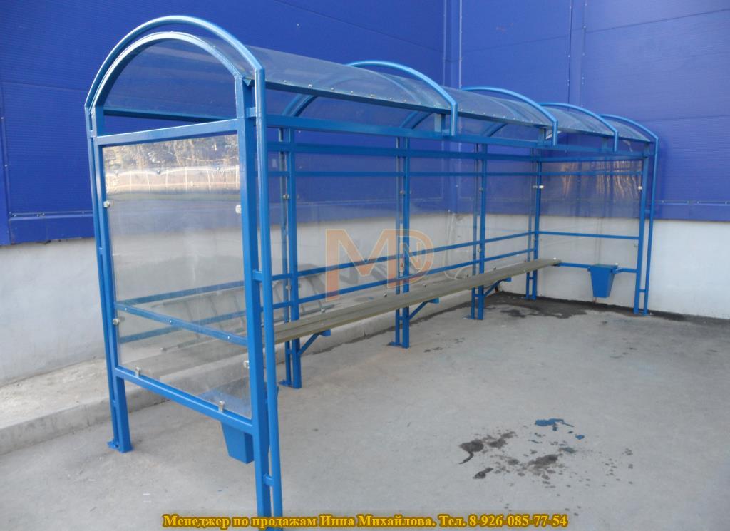 Павильона для курения в Алма-Ату, стенки стекло