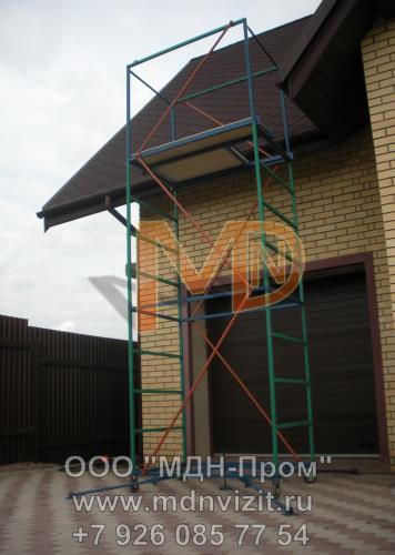 Строительная вышка для фасадных работ