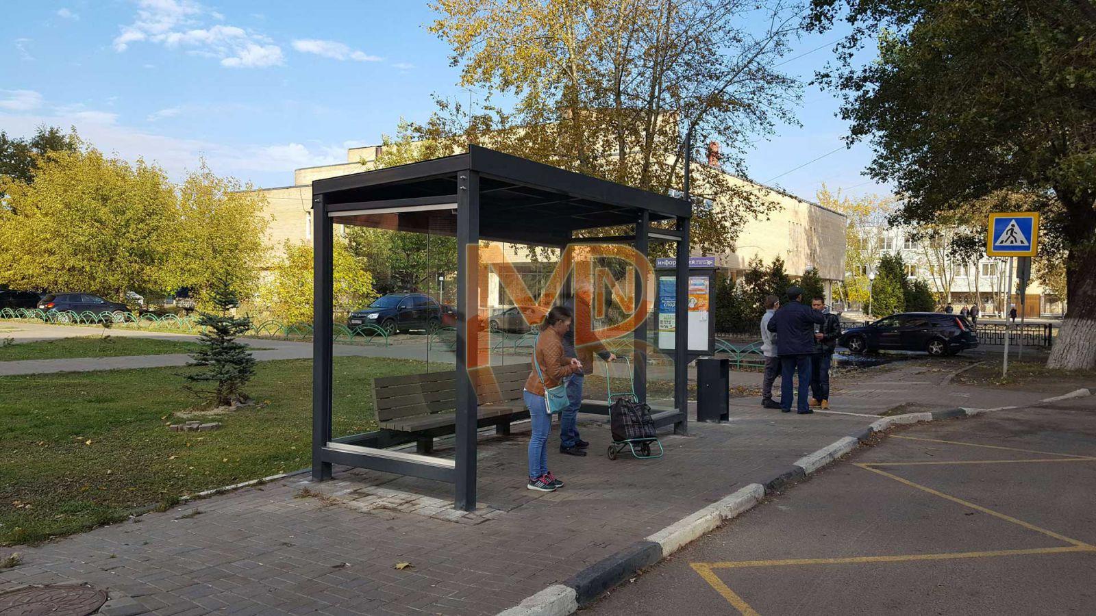 """Автобусный павильон """"Городской стандарт"""""""