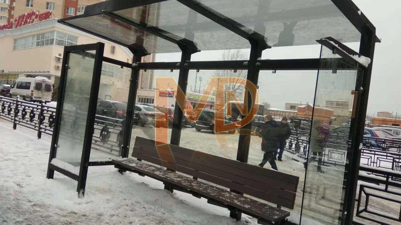"""Автобусный павильон """"Городской центр"""""""