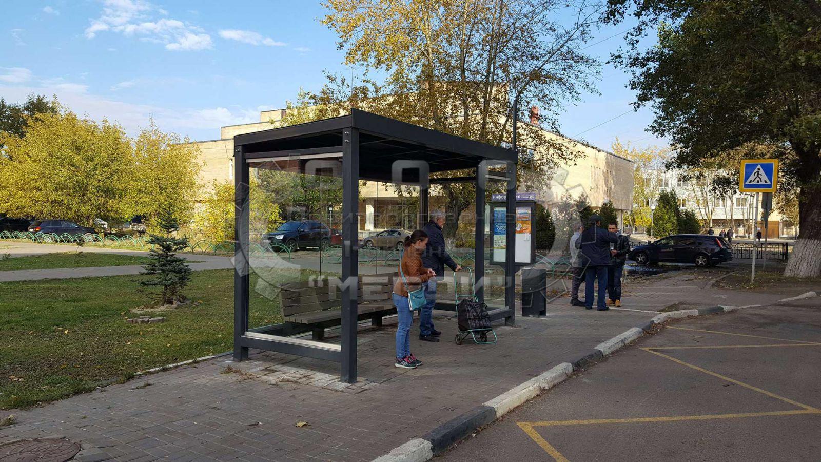 Автобусный павильон «Городской стандарт»
