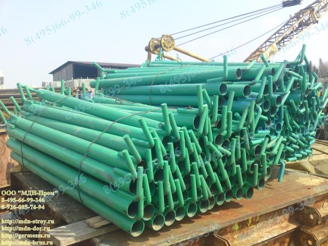 Элементы строительных лесов штыревого типа