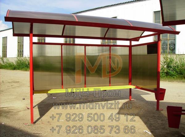 Автобусный павильон Поп