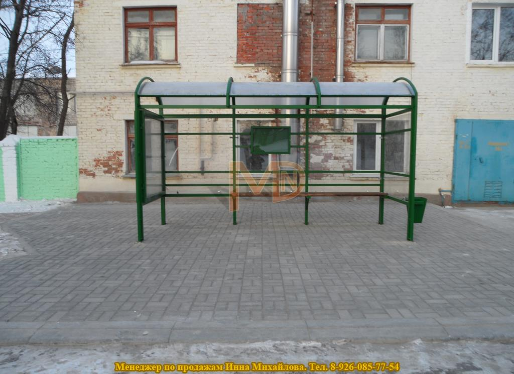 Автобусный павильон ГА-р1 4-х метровый
