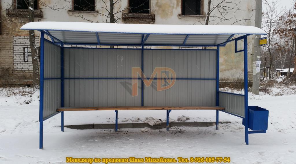 Ярославская автобусная остановка Тип 2