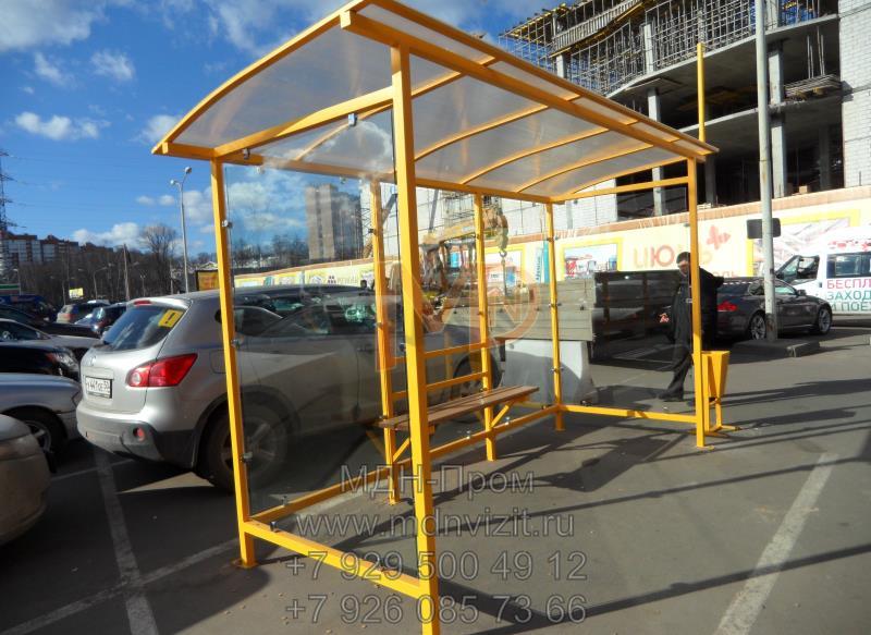 Автобусные павильоны изготовление