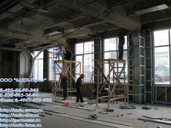 реконструкция Центра реабилитации инвалидов