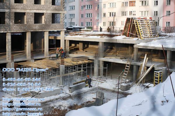 Строительство надзеной парковки